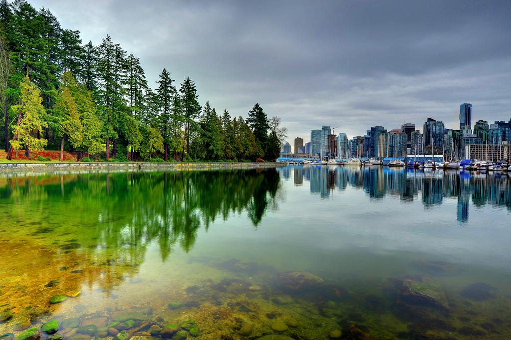 Vancouver: Stanley park és a belváros