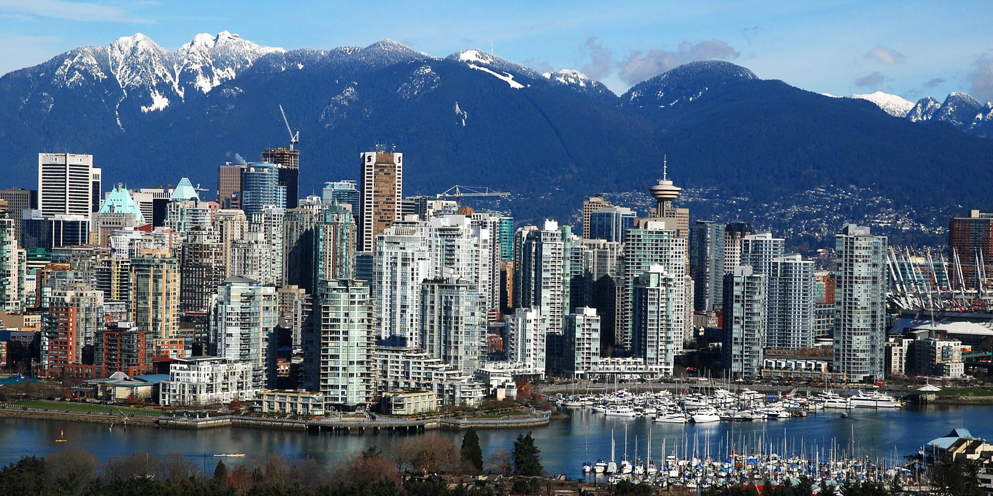 Vancouver, Kanada - városkép