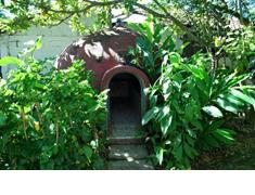 Az azték szauna kívülről egy igloo-hoz hasonlatos