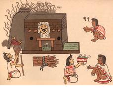 Azték szauna - festmények örökítették meg a rituális szertartásokat
